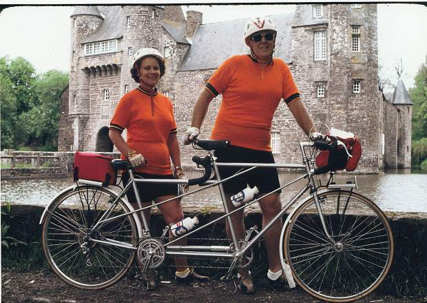Mary and Wally Krill spent 30 years of their marriage taking cycling trips through the U.S., Europe and New Zealand.