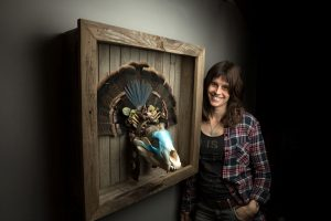 Nevada City artist fuses taxidermy, ceramics into fantastical beasts