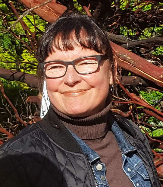 Nevada City artist Ruth Chase spent almost a year working on the I AM HERe project.