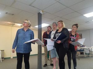 'It's A Disaster': Upstart show starts tonight in Grass Valley