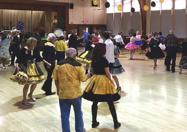 The Goldancers Square Dance Club held its first dance in 1949 at Seaman's Lodge in Nevada City. Now the festive group is celebrating its 70th Anniversary and is California's oldest square dance club.