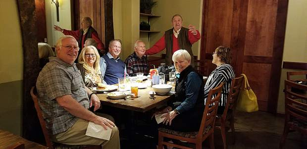 "Bob Hill celebrated his 100th birthday at Kane's Restaurant, where he invited the entire restaurant to sing two rousing renditions of ""Happy Birthday to You."""
