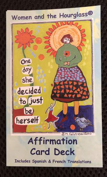 Grass Valley artist Marylou Falstreau created a card deck full of affirmations for women.