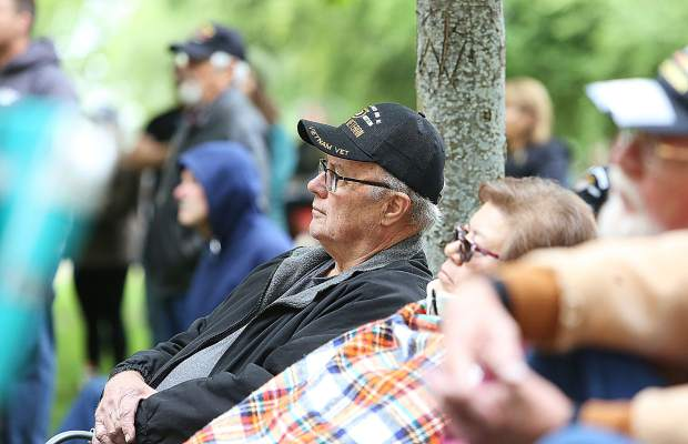 Veterans of foreign wars were in attendance of both Grass Valley's and Nevada City's Memorial Day ceremonies.