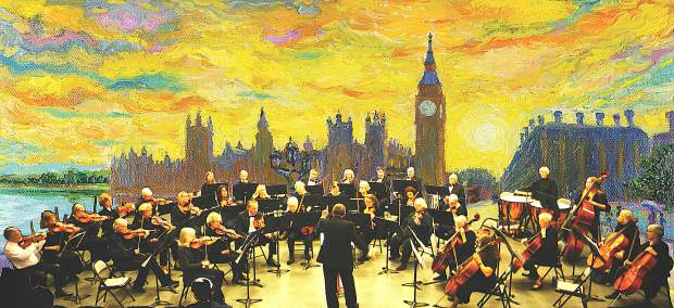 The OLLI Orchestra plays