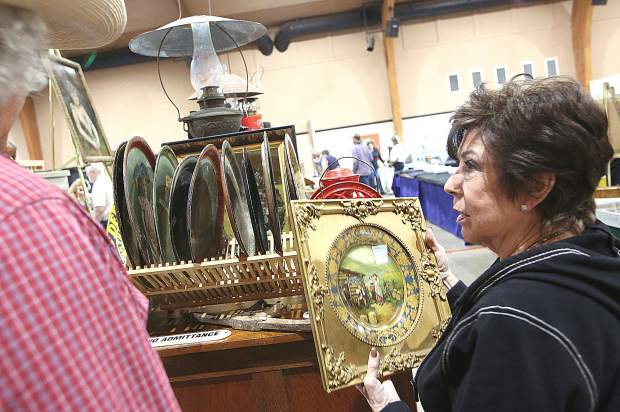 The Grass Valley Old West Show was an opportunity for folks to enjoy a hands on experience in an age of online shopping and eBay.