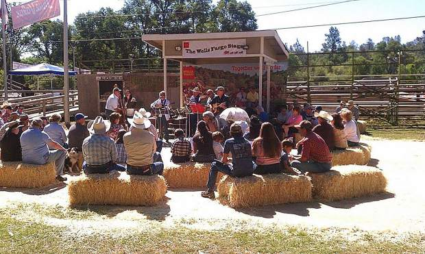 A full weekend of rodeo, music entertainment and Cowboy Church (pictured) is planned during this weekend's Penn Valley Rodeo.