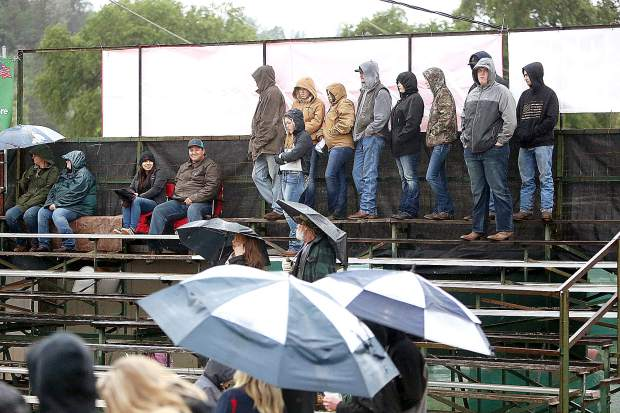 May's late rain played a part in the reduced attendance at the Penn Valley Rodeo over the weekend. Die hard rodeo fans still enjoyed the experience during the 62nd annual event.