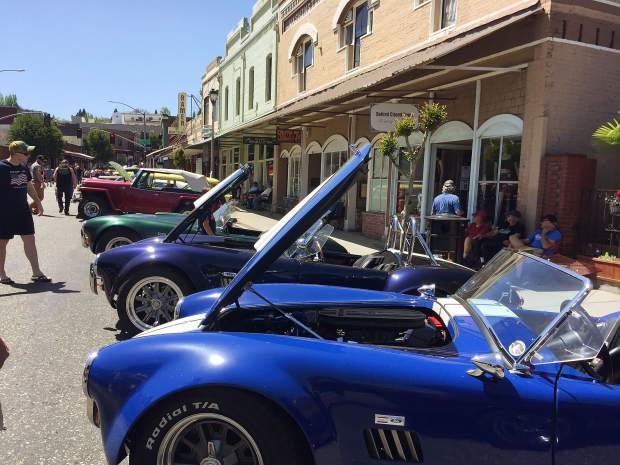 Great classics at the car show in downtown Grass Valley May 4.