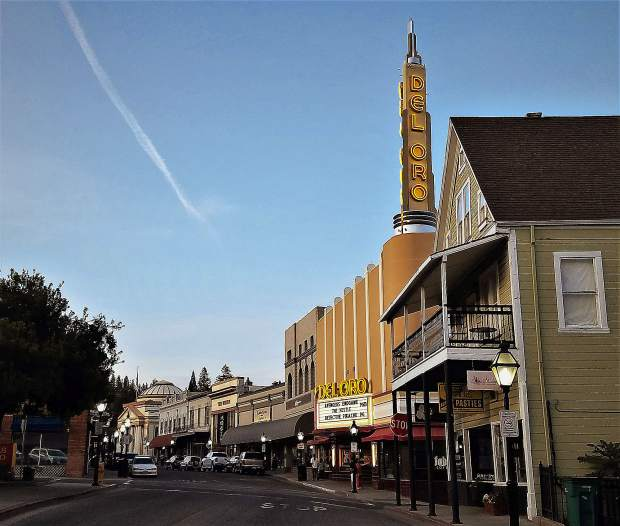 Downtown Grass Valley, May 12.