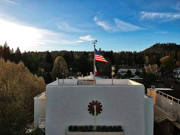 the courthouse in Nevada City.
