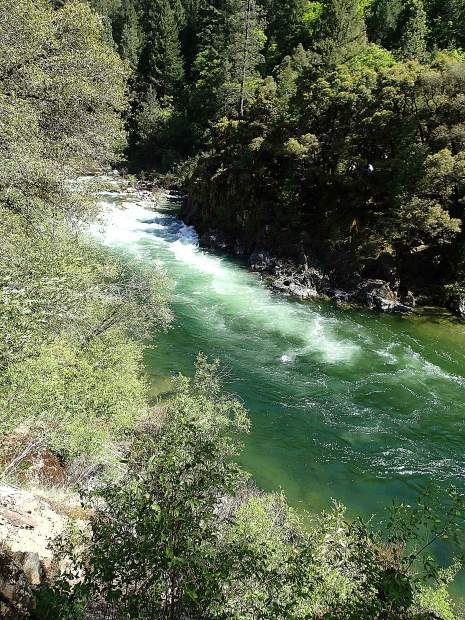 South Yuba River between Poorman and Missiouri Bar.