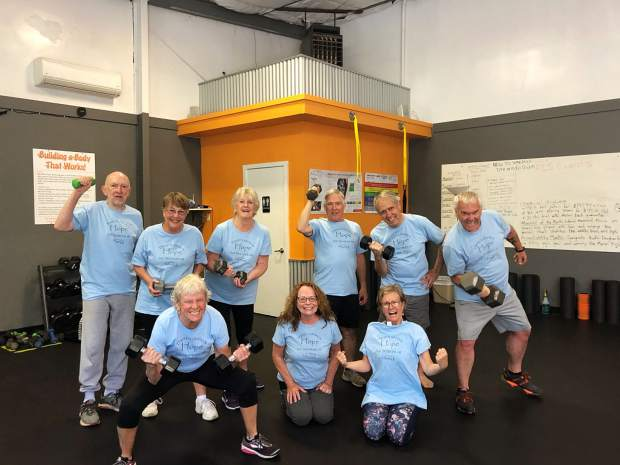 Nevada County Captures: Senior Fitness class from Fit Culture Studios