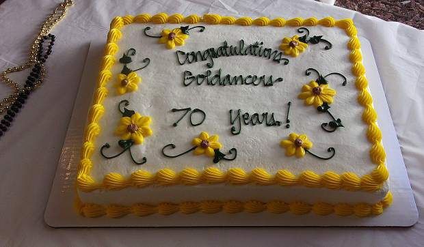 Goldancers celebrate 70th Anniversary!