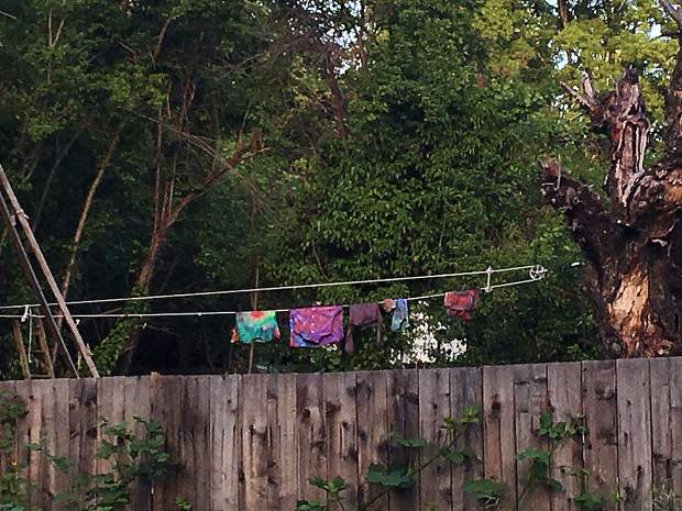 Tie Dye clothesline Grass Valley.