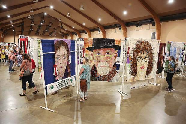 The Springtime in the Pines Quilt Show offered inspiration to those quilt lovers at the Nevada County Fairgrounds for the popular annual showcase.