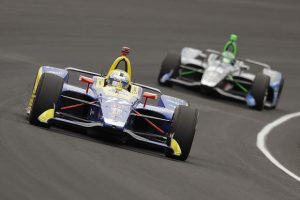 RUNNER-UP: Rossi finishes second to Pagenaud in dramatic Indy 500