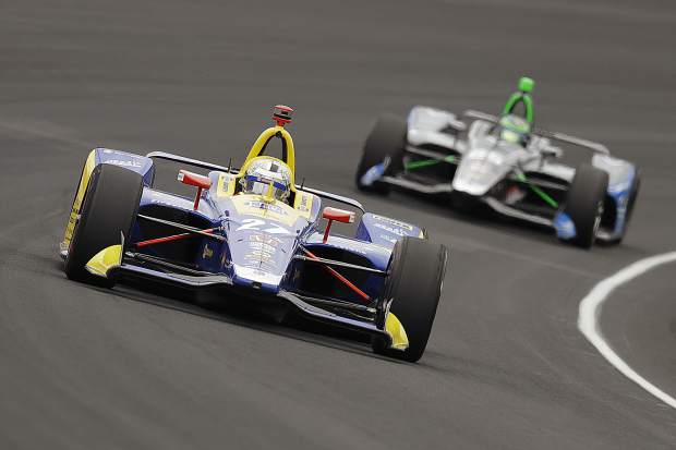 Rossi runner-up at Indianapolis 500