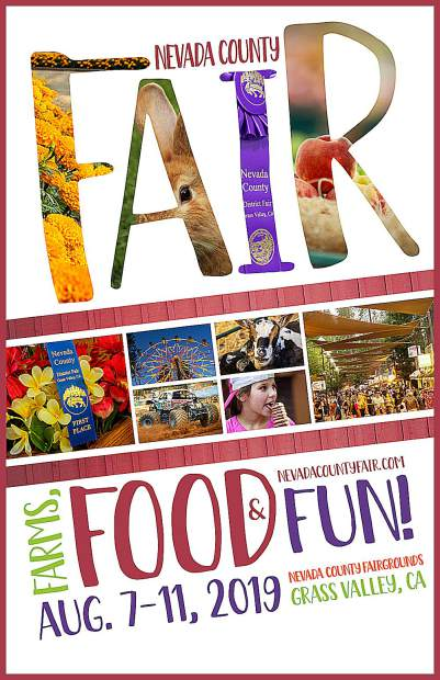 "Artist Kial James has designed this year's ""Farms, Food & Fun!"" Nevada County Fair poster."