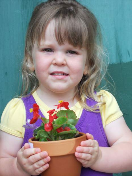 The Potting Bench will give children a chance to plant a flower in time to honor their mom for Mother's Day.