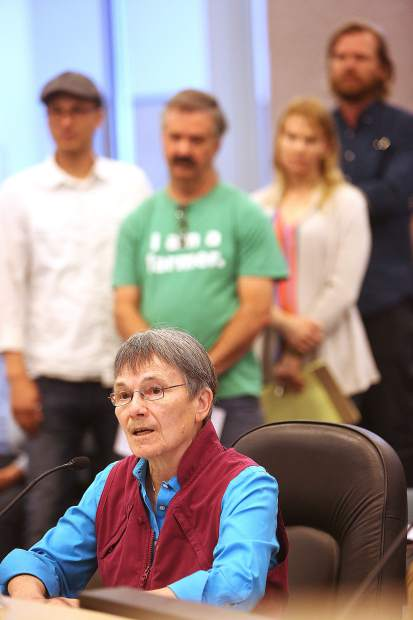 The public comment period of the draft cannabis ordinance meeting lasted over two hours May 7.