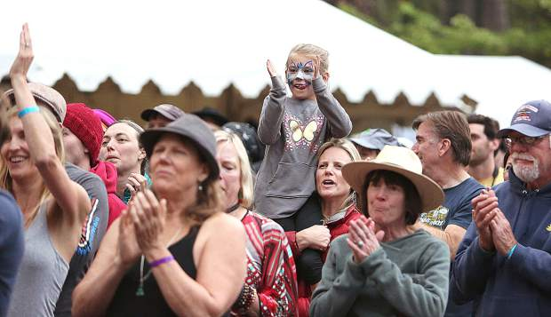 Strawberry Music Festival goers young and old keep the long-standing tradition of family fun alive during the 2019 spring festival. There will not be a fall festival this year.