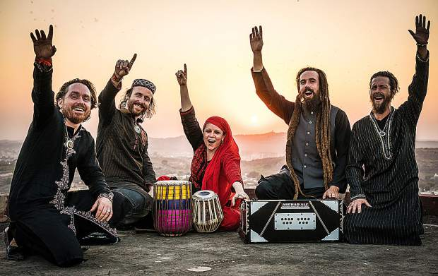 Sufi musicians Fanna-Fi-Allah carry the ancient tradition of Sufi Qawwali to their home town crowd when Paul Emery brings them back to the Miners Foundry for a dance concert on Friday.