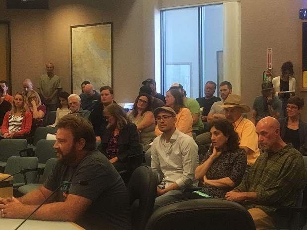 Many people thanked the Nevada County Board of Supervisors at a Tuesday meeting moments before the passage of a new cannabis grow ordinance.