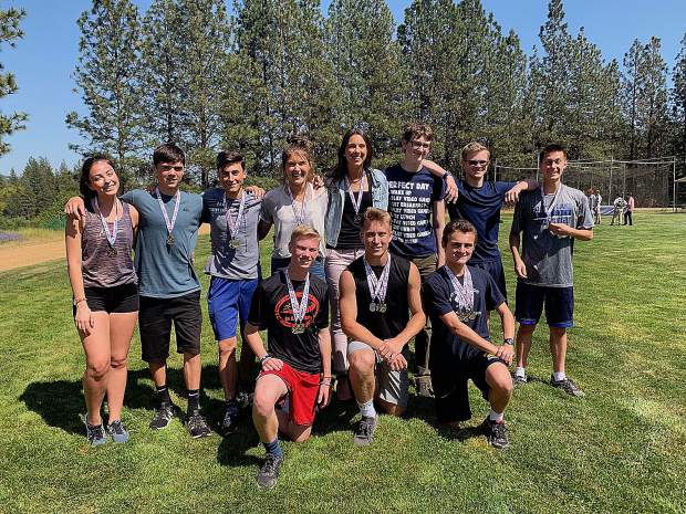 Forest Lake Christian's boys and girls varsity teams won team titles at the Central Valley California League Track and Field Championships held at Encina Prep High School last week.