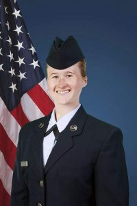 IN SERVICE: Airman Abigail R. Fisher