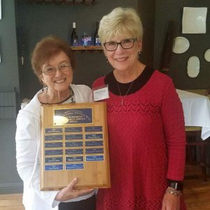 Stephanie Facchini wins Edi Silverman Community Service Award