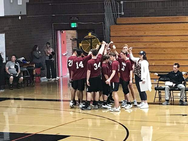 Bear River cruised past KIPP King in straight sets, 25-22, 25-15, 25-18, in the first round of the CIF NorCal Division III boys volleyball tournament.