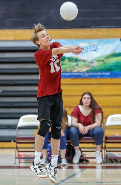 Bear River's Weston Prosser tallied 37 assists and nine digs in the Bruins victory over Ripon Christian in the Sac-Joaquin Section Division III Championship match.