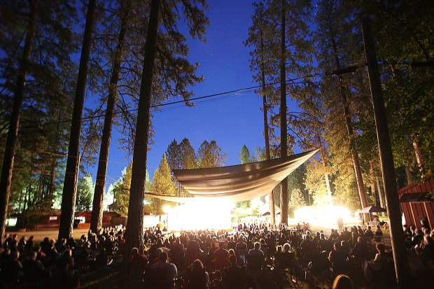 Hundreds showed up to the Nevada County Fairgrounds' Pine Tree Stage to take part in Music in the Mountains' inaugural Brass Brats and Brews event partnering with Grass Valley Brewing and The Ham Stand for the Summerfest 2019 events. For more information including upcoming performances visit www.musicinthemountains.org.