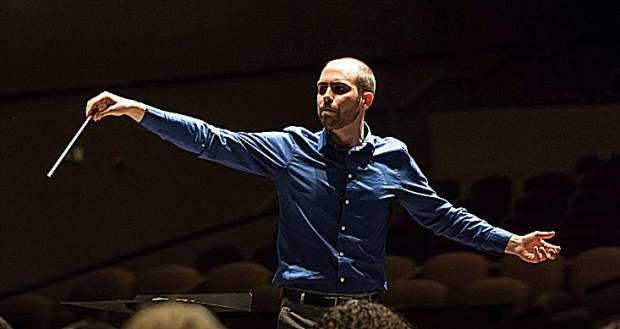 """Maestro Ryan Murray, resident conductor for Music in the Mountains, will lead the revival of """"Carmina Burana."""""""