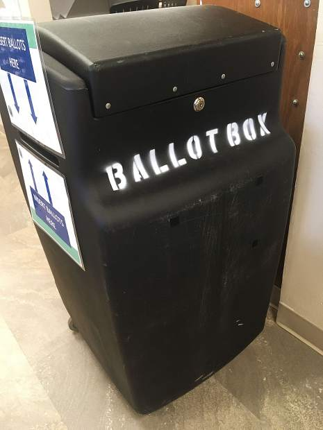 Voters can drop off their ballot at different spots across Nevada County.