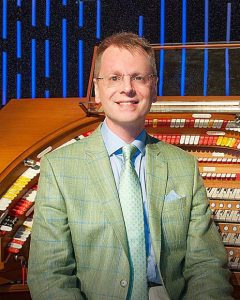 English organist set to perform in Grass Valley