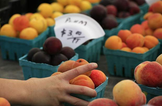 "Alan: Apricots can be considered the first of the ""soft"" fruits of summer."
