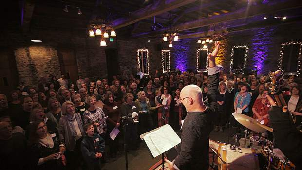 Miners Foundry to be filled with the sounds of song