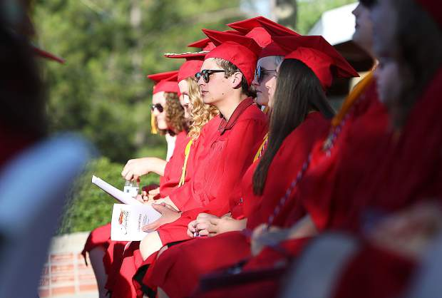 Forty three students graduated Wednesday from Ghidotti Early College High School.