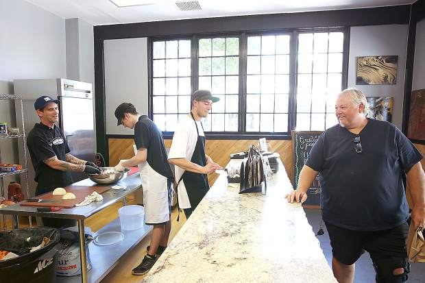 Grass Valley Pasty Co. is open for business in the location of the former Cousin Jack's Pasty shop. Co-owners Tyler Rickards and Jesse Hopper have been busy trying to keep up with demand.