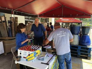 A path toward security: Grocery Outlet hosts Interfaith Food Ministry for annual collection of food, donations