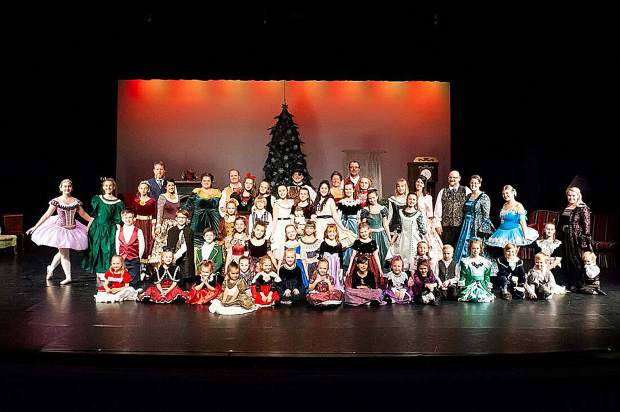 Over 60 dancers, children, dads and moms participated in the Nevada County Nutcracker in it's 15th year. All total there were 110 dancers and participants in the 2018 Nevada County Nutcracker.