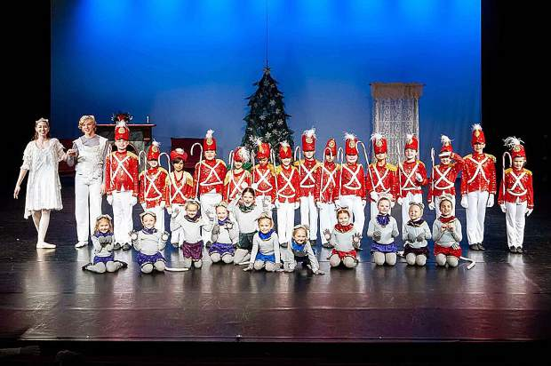 2018 Nutcracker soldiers and mice from the fight scene.
