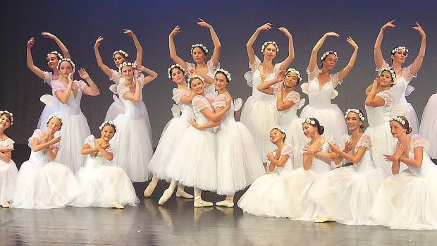 Dancers learn classical ballet's such as Les Sylphides choreographed by Mikhail Fokine in 1909 music by  Frédéric Chopin. A live pianist was present on stage to accompany the dancers during the 2018 performance.
