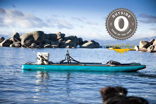 The Tahoma inflatable stand-up paddleboard won Outside Magazine's Gear of the Year award for best stand-up paddleboard of 2019.