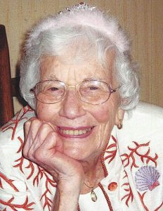 Obituary of Olga Nomellini McGuinn Thorson