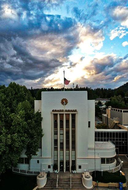 Nevada City Courthouse.