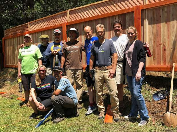 A group of volunteers including a large team from The ManKind Project helped out during the 11th United Way Day of Action recently.