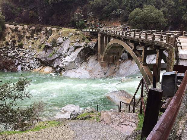 Yuba River at South Fork on Highway 49.